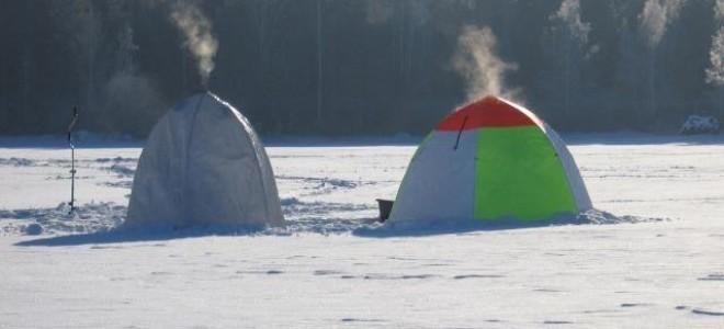 Палатки для зимней рыбалки – виды, оборудование и обустройство