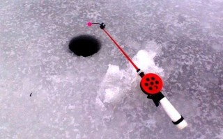 Оснастка зимних удочек для течения