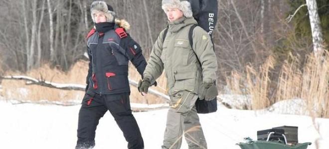 Зимние костюмы для рыбалки – обзор и рекомендации