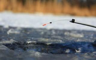 Ловля мормышкой на течении со льда – особенности оснастки и техники игры