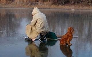 Особенности рыбалки по первому льду – важные моменты, тактика и снасти