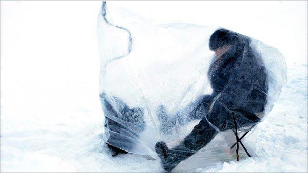 Зимнее укрытие мешок