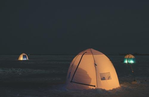 Зимние палатки