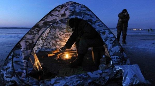 Китайская палатка автомат