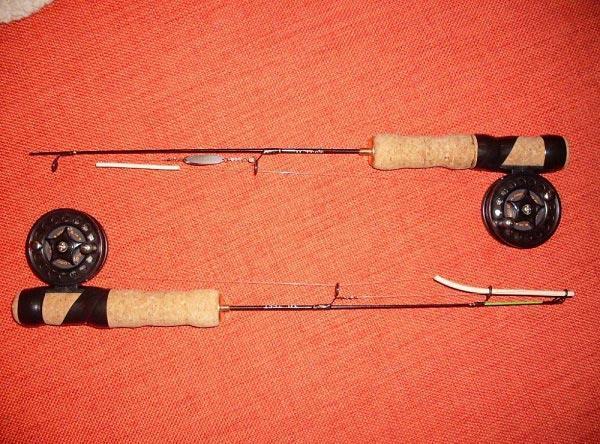 Самодельный удильник из фидерных вершинок (квивертипов)