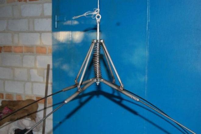 самодельный крест на паук