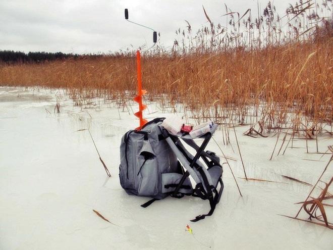 ловля зимой
