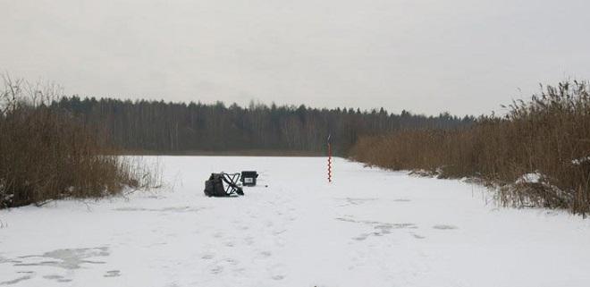 Щучьи места по первому льду