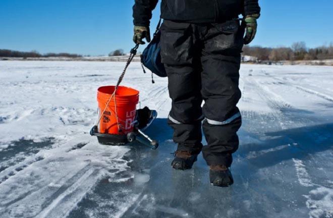 Волокуши на зимней рыбалке