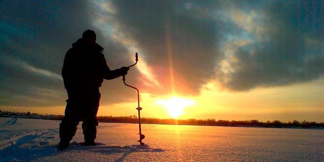 Новичок зимой на рыбалке